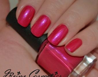 Huntress - Hot Pink shimmer Nail Polish