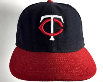 7f51e40961e ... wholesale red black minnesota twins cap vintage trucker hat baseball cap  new era mlb hat size