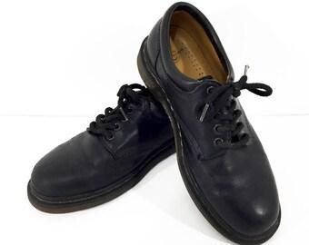 90s Doc Martens / Dr Martens Oxfords Men's 10 / Dr Martens Punk Shoes / 90s Grunge Shoes / Black Leather Shoes Mens Dress Shoes Dr Martins