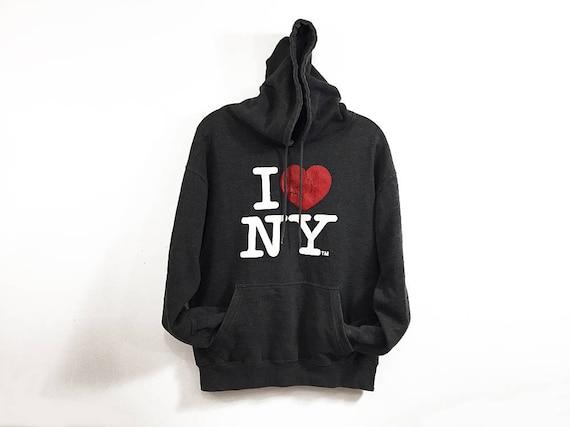 Rare !! Vintage NEW YORK Sweatshirt Embroidery Big Logo Of Major League Baseball Hip Hop Swag Medium Size #A4 WtYAjm9G