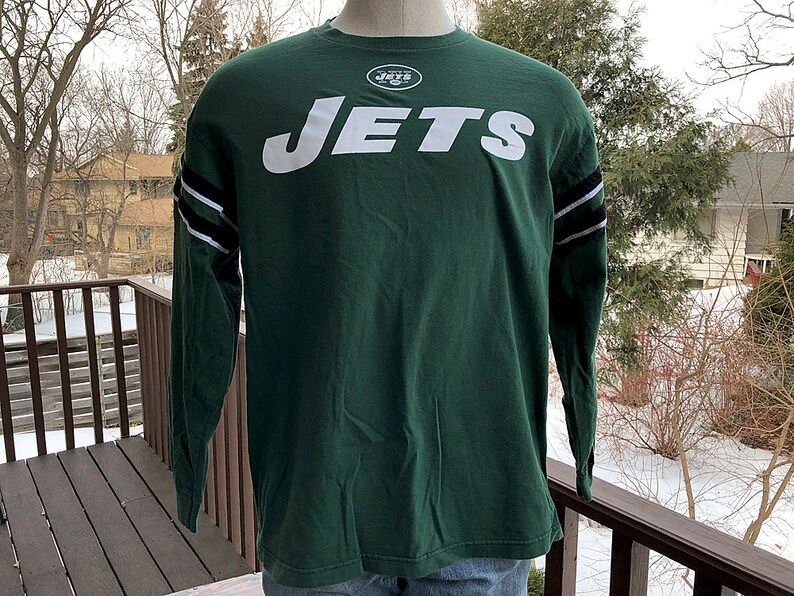401cf9c2f New York Jets Long Sleeve Tee Vintage NFL Jets New York