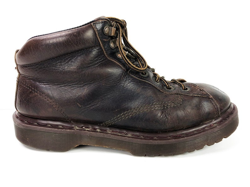 d1f9c9800b05e3 Mens 10.5 Chunky Dr Martens Hiking Boots Made in England 90s
