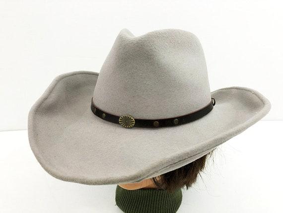 Smoke Gray Cowgirl Hat Cowboy Hat by Broner U-Shape-It Model  00d0128fc11c