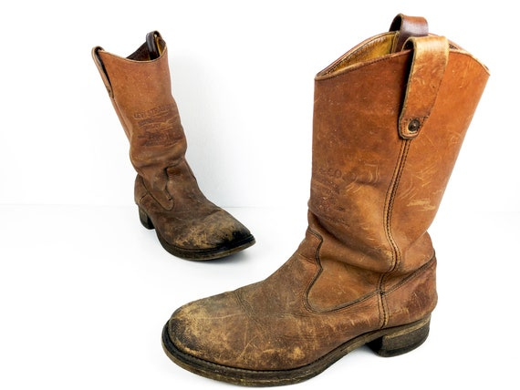 70s Levis Orange Tab Boots Mens 10 Campus Boots -