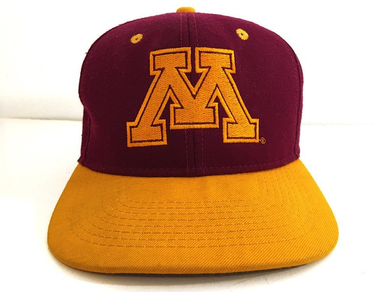 da467f690cc Minnesota Gophers Cap Vintage Trucker Hat U of M Hat Dad Hat