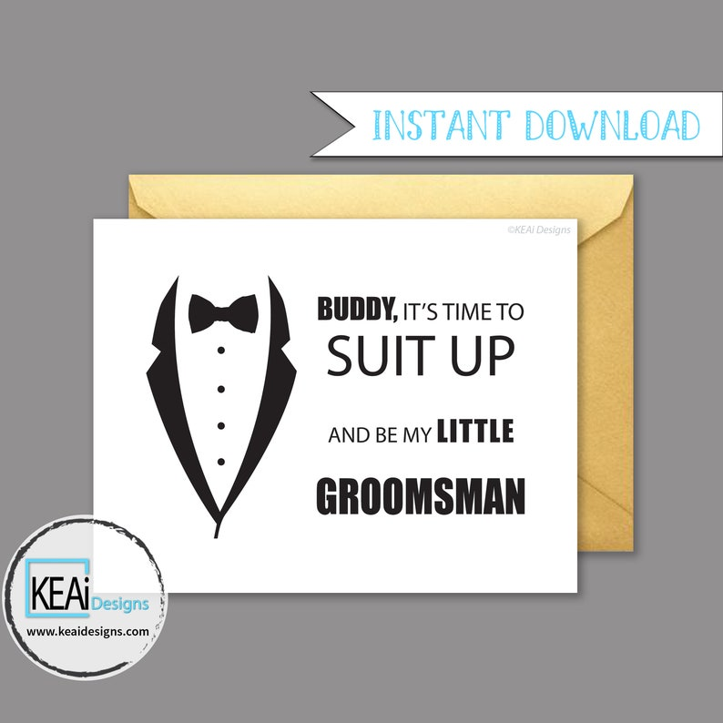 Will You Be My Ring Bearer // Will You Be my Little Groomsman image 0