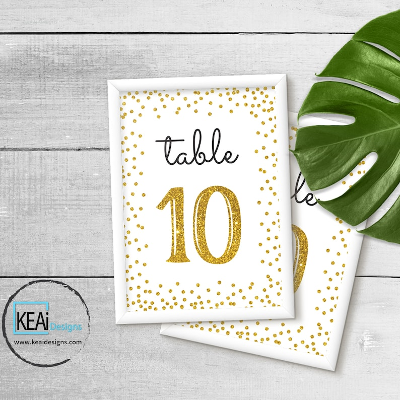 Fabulous Printable Table Numbers 1 10 Wedding Table Numbers Anniversary Party Table Numbers Birthday Party Table Numbers Diy Keaidesigns Download Free Architecture Designs Rallybritishbridgeorg