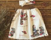 Roald Dahl skirts
