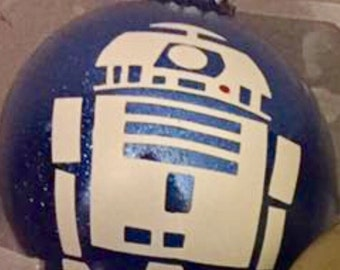 Custom Star Wars Inspired R2-D2 Ornament