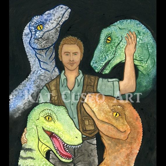 Raptor Squad Coaster Etsy