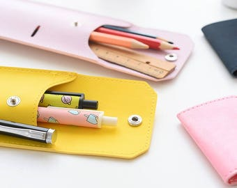 PU Pencil Case - PU Pencil Holder - PU Pen Case