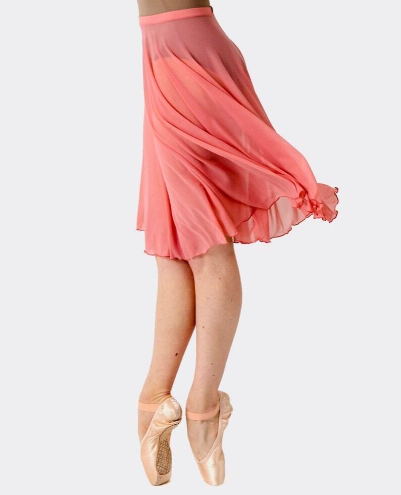 LOVE  Classical Circular 21 Knee-length Skirt image 1