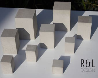 Concrete block - Display Stand