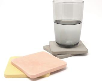 Concrete Square- Coasters