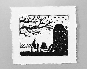 Nightmare - Hand-printed Pronto Print