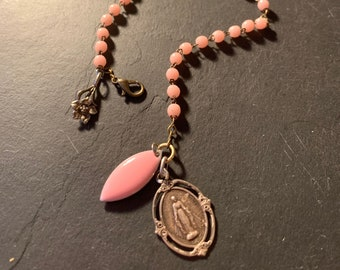 Vintage Chapel and Ancient Saint Mary's Medal.