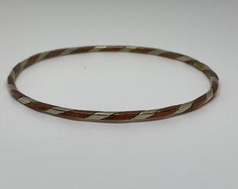 Vintage 70's braided metal junk