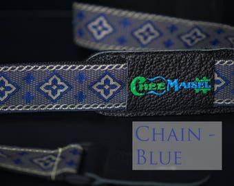 Blue Chain 'Ukulele Strap