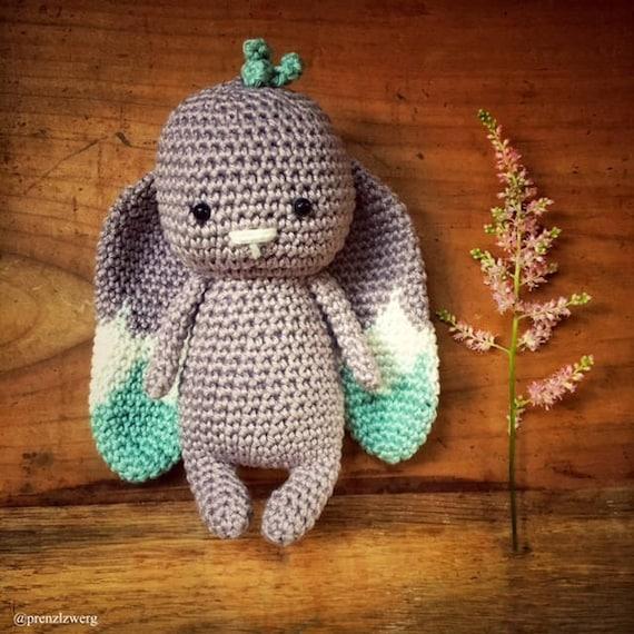 crochet pattern PDF EnglishDeutsch bunny | Etsy