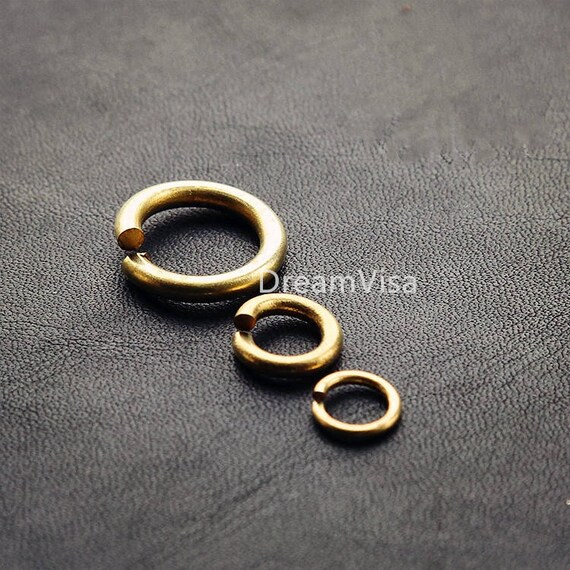 10pcs Copper Eyelets Grommets Craft Ring-Around Eyelet Grommets Eyelet Ring