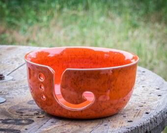 Tuscan Sunset Yarn Bowl