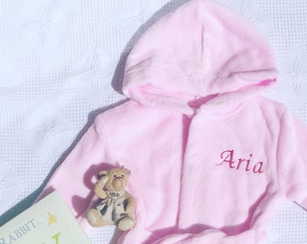 4th Birthday Gift Personalised Bathrobes For 4 Year Old Turning Boy Girl