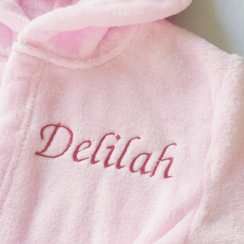 Kids Robe   Personalised Robes   Personalized Girl Robe  fe64cf513