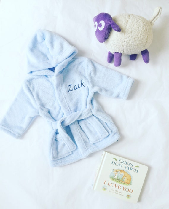Kids Robe / Personalised Robes / Personalized Boy Robe / Kids   Etsy