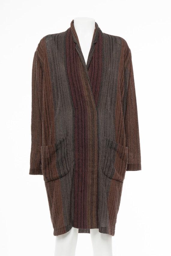 Vintage 80s NORMA KAMALI Cape Dress