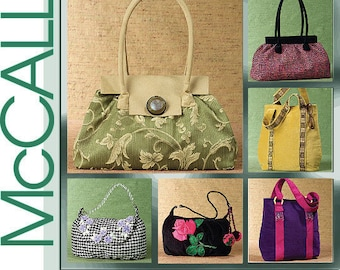 McCall/'s 4936 Handbags   Sewing Pattern
