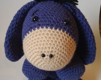 Digital Printable Do It Yourself Eeyore From Winnie The