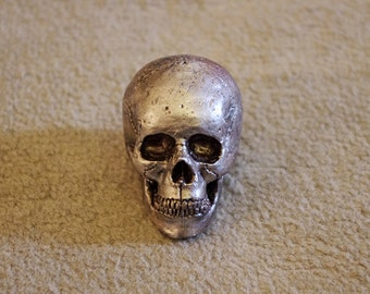 Silver mini skull