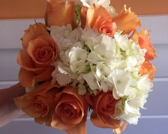 Bridal Bouquet and Boutonniere