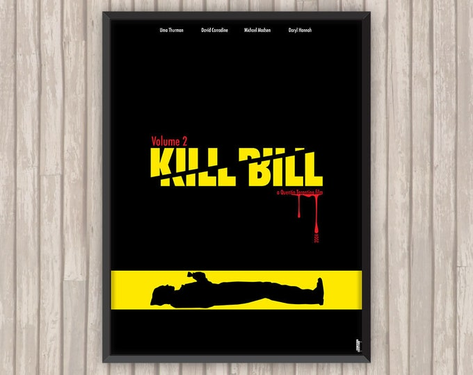 KILL BILL Volume 2, l'affiche revisitée par Lino la Tomate !
