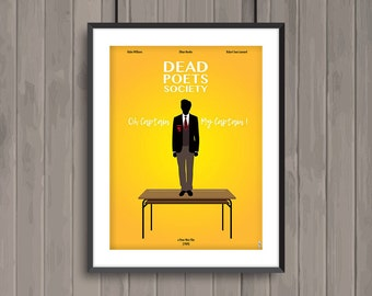 Fq018 Dead Poets Society 1989 Film Quote Carpe Diem Cushion Cover Gift