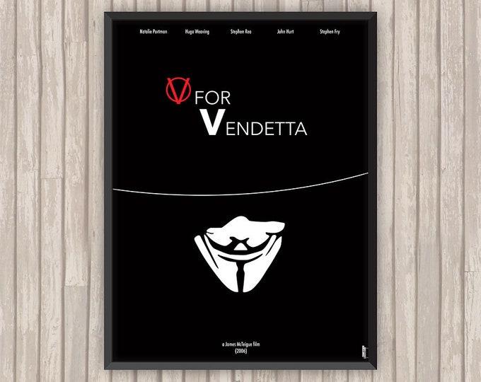 V POUR VENDETTA (V for Vendetta), l'affiche revisitée par Lino la Tomate !