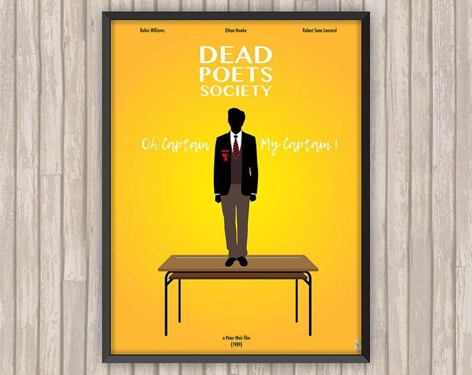 Le CERCLE des POÈTES DISPARUS (Dead Poets Society), l'affiche revisitée par Lino la Tomate !