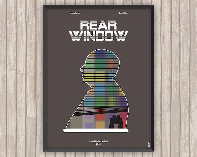 FENÊTRE SUR COUR (Rear Window), l'affiche revisitée par Lino la Tomate !
