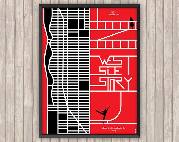 WEST SIDE STORY, l'affiche revisitée par Lino la Tomate !