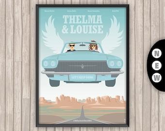 THELMA & LOUISE, l'affiche revisitée par Lino la Tomate !