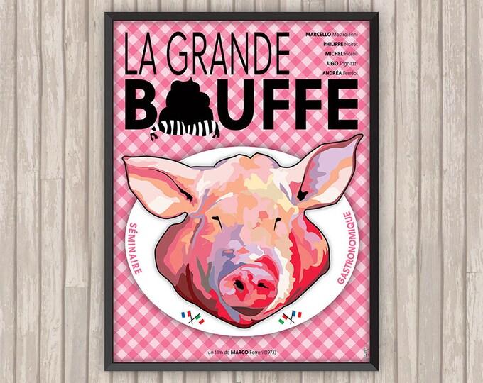 LA GRANDE BOUFFE, l'affiche revisitée par Lino la Tomate !