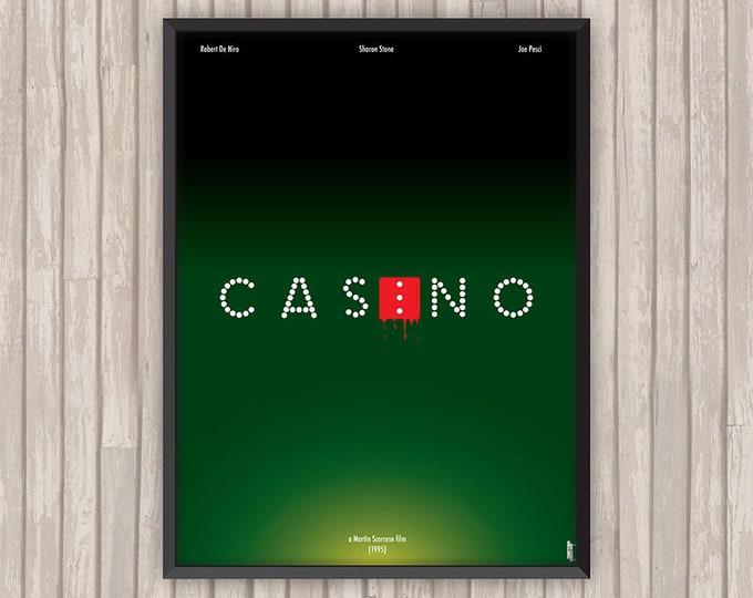 CASINO, l'affiche revisitée par Lino la Tomate !