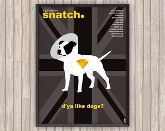 SNATCH (tu braques ou tu raques), l'affiche revisitée par Lino la Tomate !