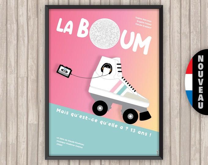 LA BOUM, l'affiche revisitée par Lino la Tomate !
