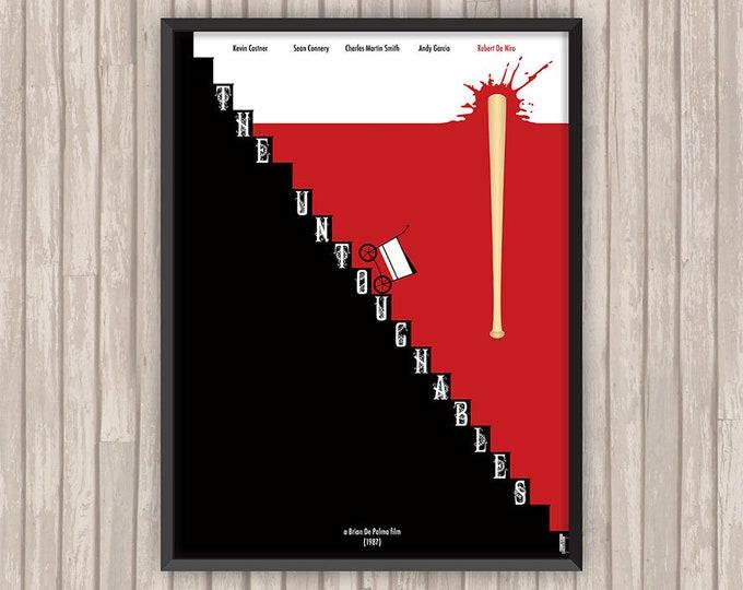 LES INCORRUPTIBLES (The Untouchables), l'affiche revisitée par Lino la Tomate !