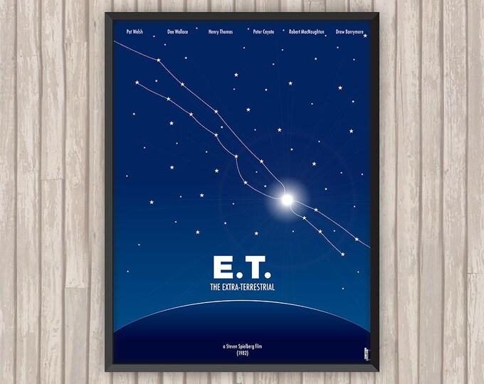 E.T. L'EXTRA-TERRESTRE (E.T. the Extra-Terrestrial), l'affiche revisitée par Lino la Tomate !