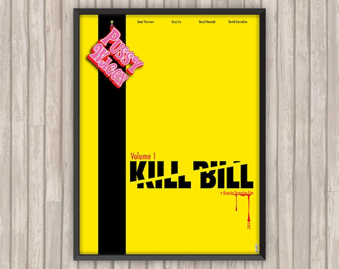 KILL BILL Volume 1, l'affiche revisitée par Lino la Tomate !