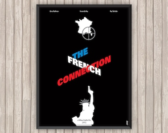 THE FRENCH CONNECTION, l'affiche revisitée par Lino la Tomate !