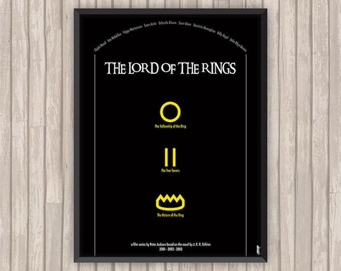 LE SEIGNEUR des ANNEAUX (The Lord of the Rings), l'affiche revisitée par Lino la Tomate !