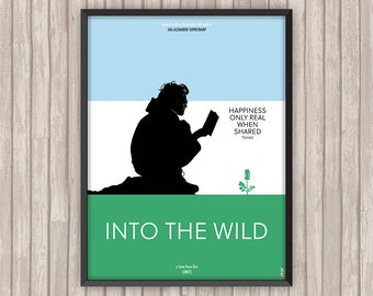 INTO THE WILD, l'affiche revisitée par Lino la Tomate !